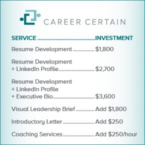 Career Certain Service Investment